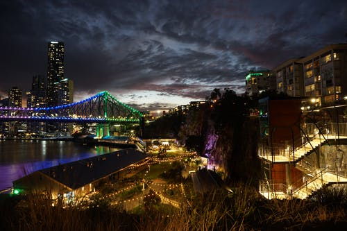 Free stock photo of australia, brisbane, city night, queensland