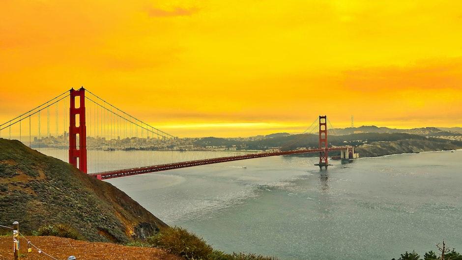 bay, bridge, california