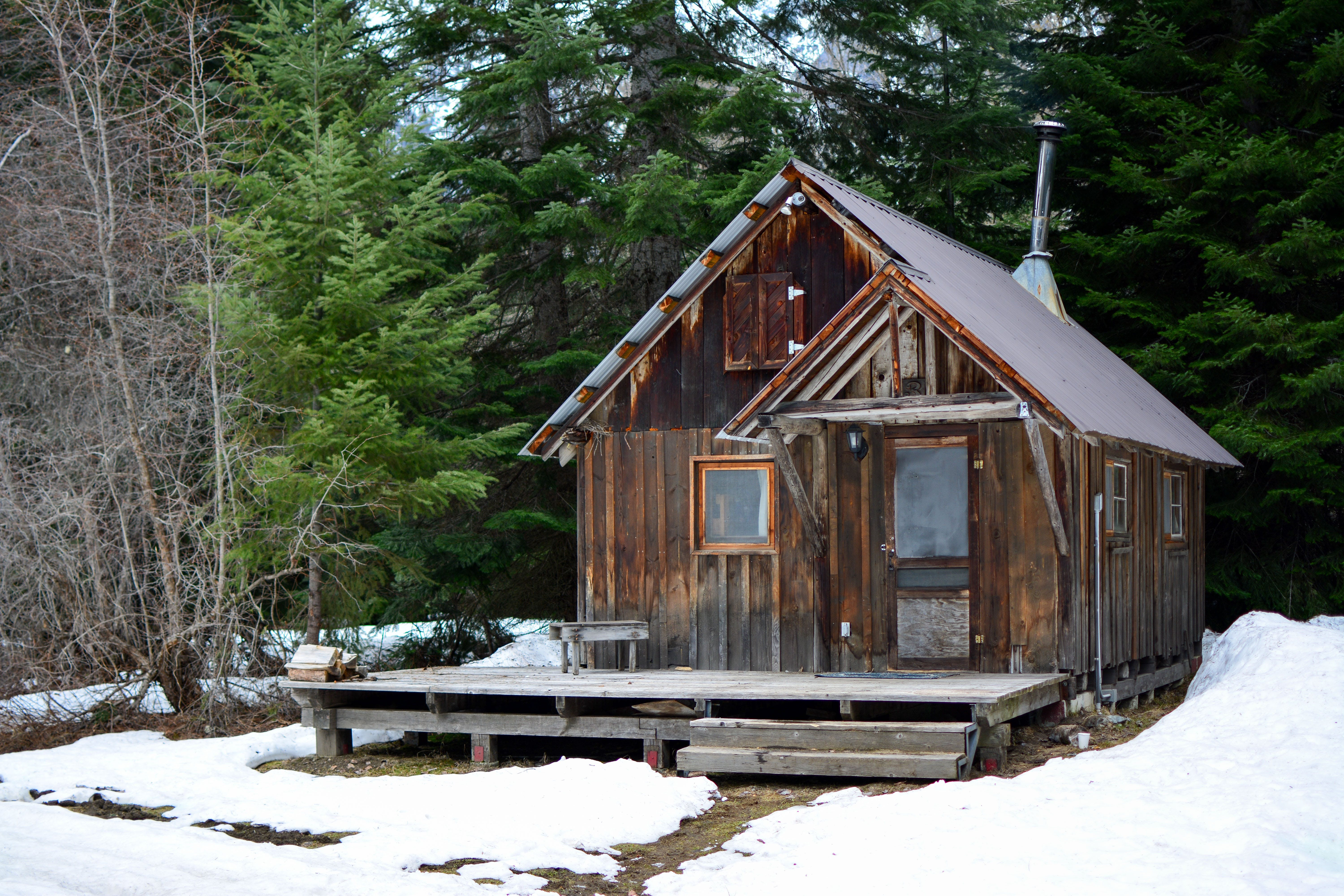 Free stock photo of cabin, camp, home, nature