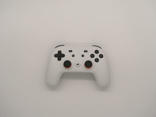 White and Black Xbox Game Controller