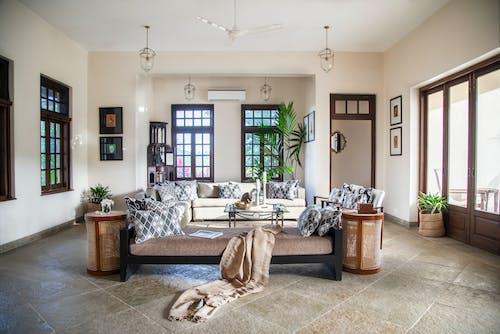 住宅, 客廳, 室內裝飾 的 免費圖庫相片
