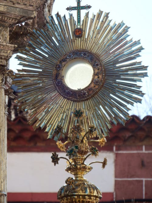Free stock photo of catholic, eucharist, jesus christ, monstrance