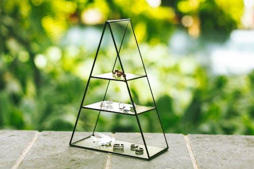 White and Black Eiffel Tower Miniature