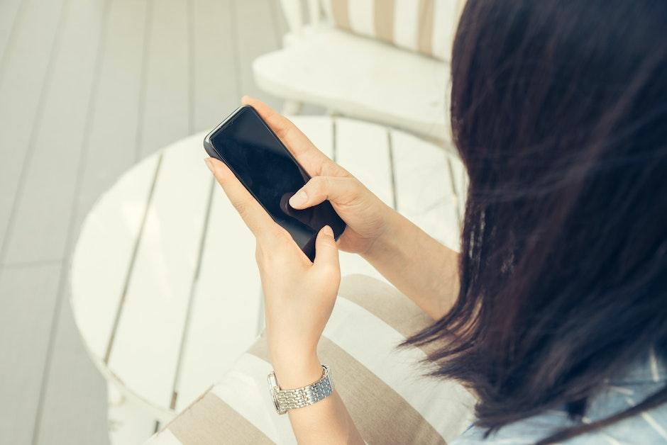 blur, cellphone, close-up
