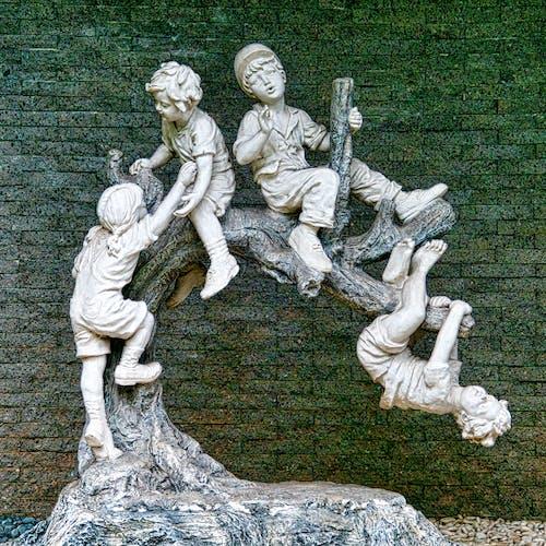 Darmowe zdjęcie z galerii z bóg, dekoracja, dzieci, figura