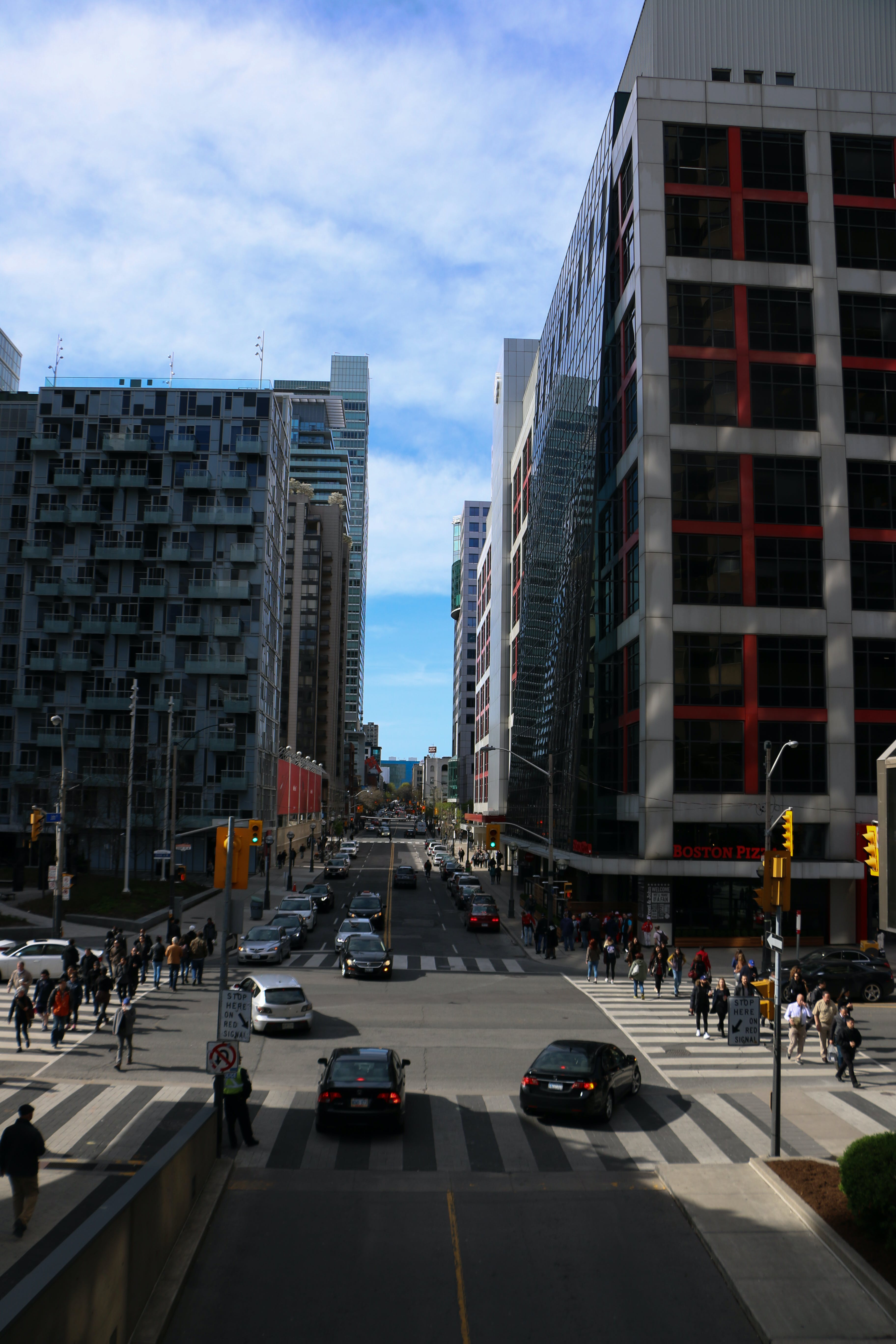 Free stock photo of canada, downtown, evening, rush hour