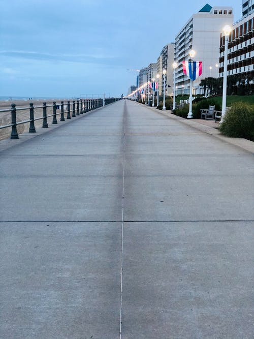Free stock photo of boardwalk, virginia beach