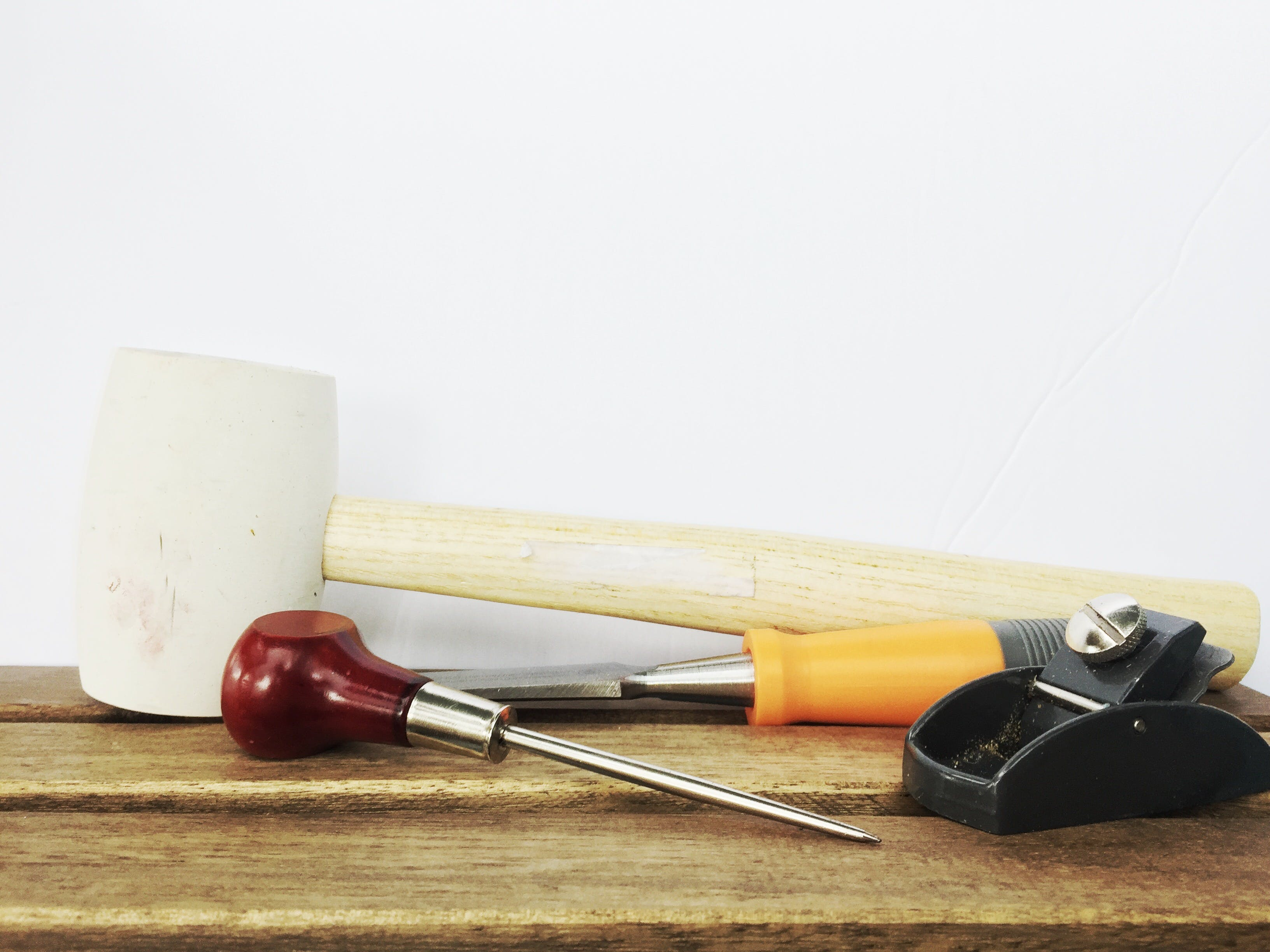Free stock photo of chisel, mallet, pick, planer