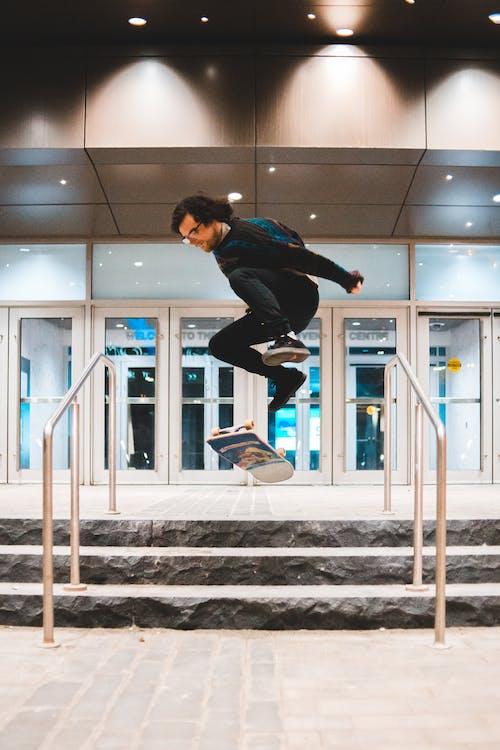 Photo of Man Skateboarding