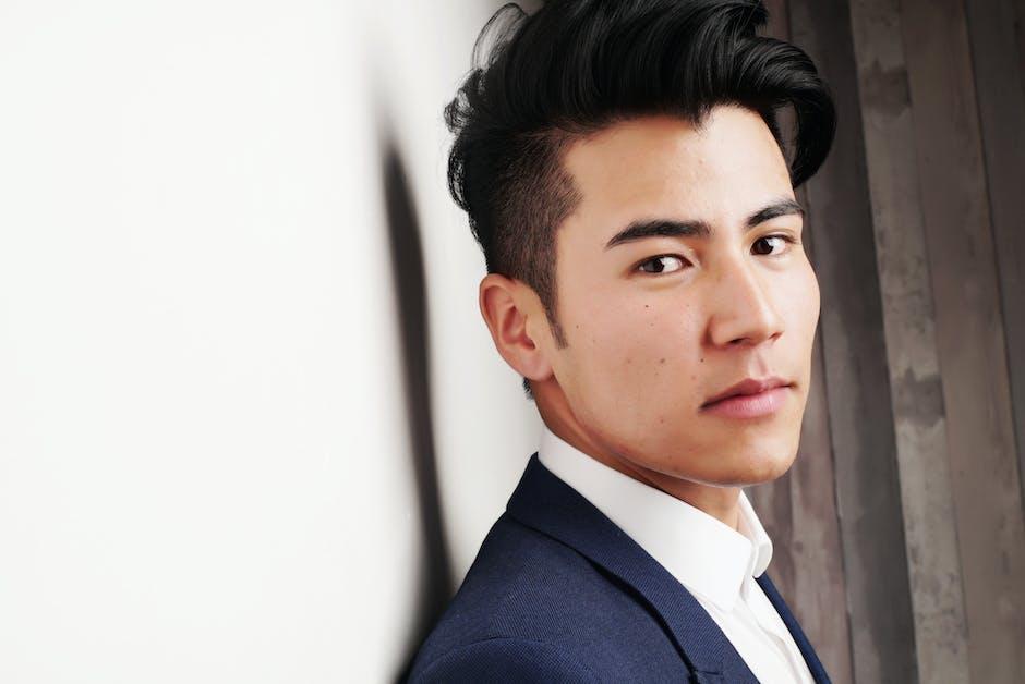 asian man, businessman, close -up