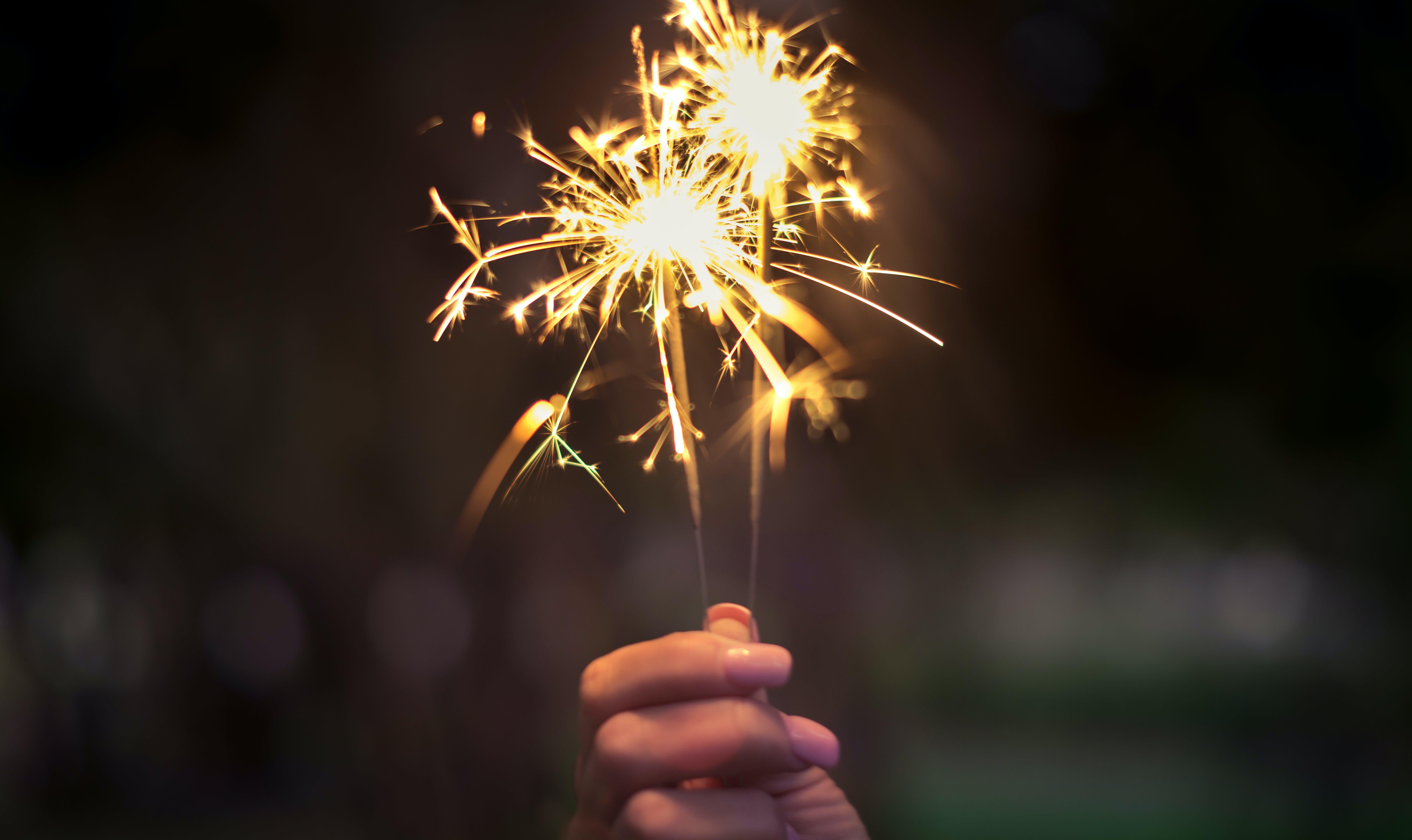 Kostenloses Stock Foto zu 4. juli, abend, beleuchtet, blitz