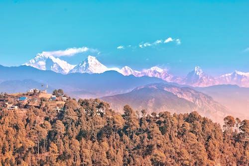 Free stock photo of annapurna, giant mountains, himalayas