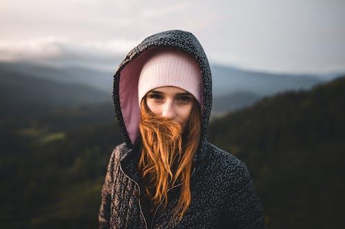 Ảnh lưu trữ miễn phí về áo hoodie, ca bô, cái mũ len, Chân dung
