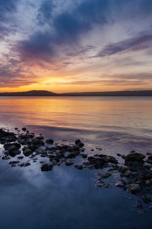 反射, 太陽, 岩石, 戶外 的 免费素材图片