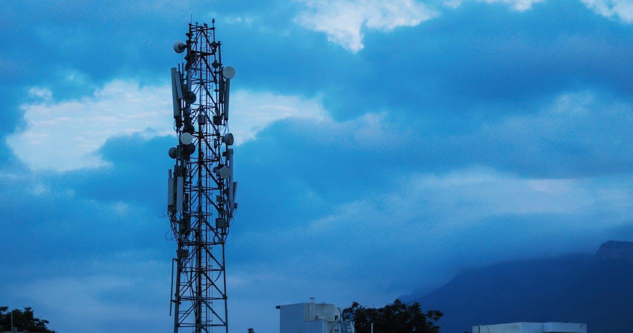 Foto d'estoc gratuïta de 'cell-towers', 4g, 5 g