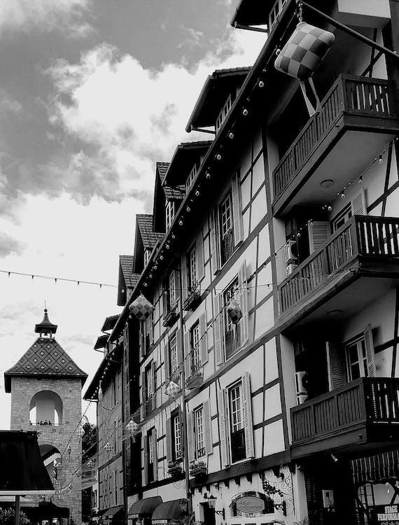 alto, appartamento, balcone