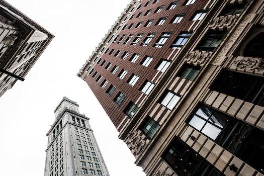 Free stock photo of building, bricks, architecture, clock