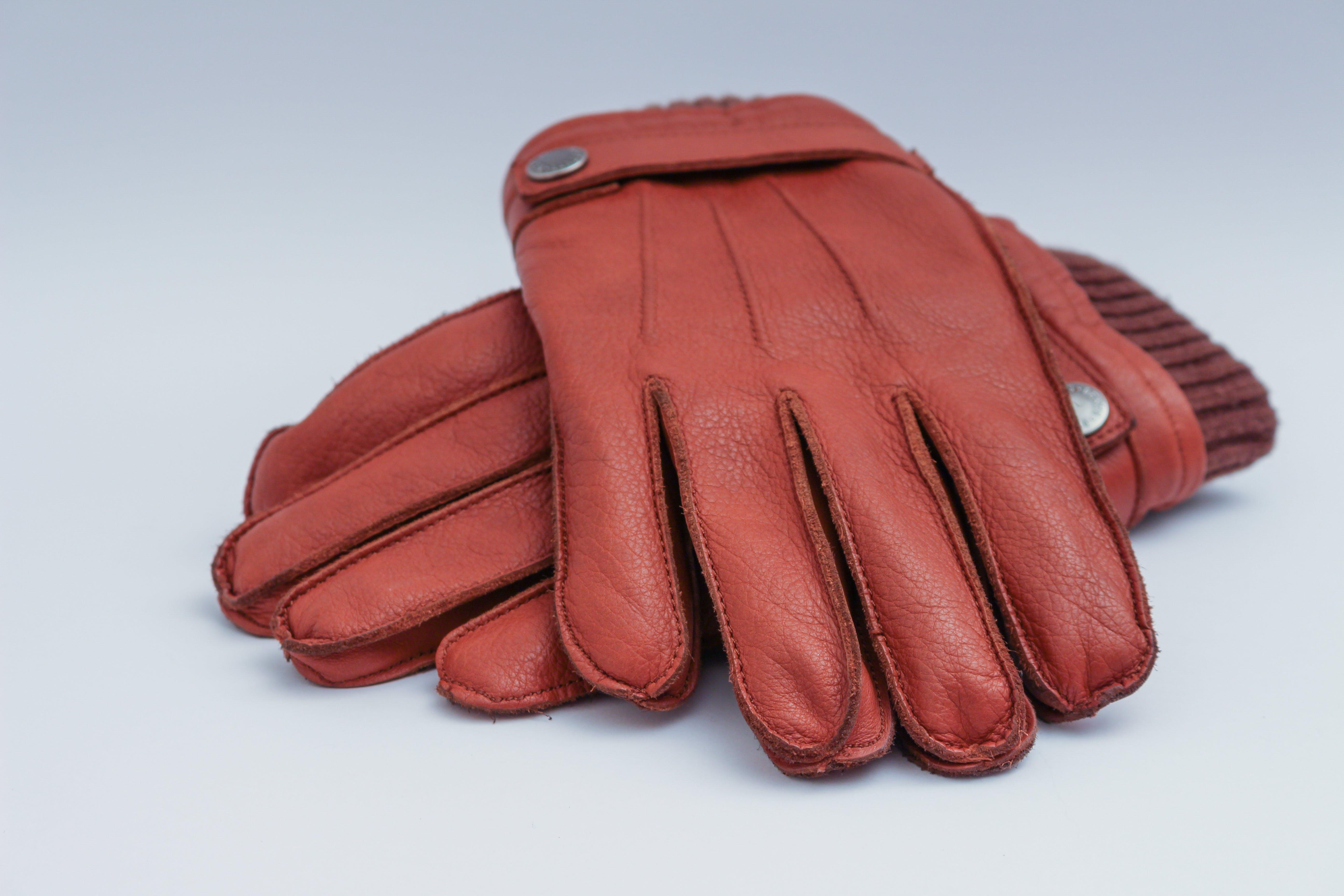 braun, fashion, handschuhe