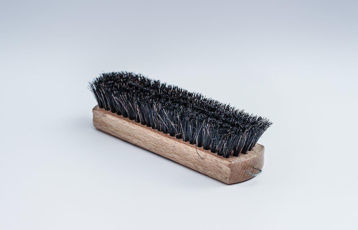 Black Steel Brush