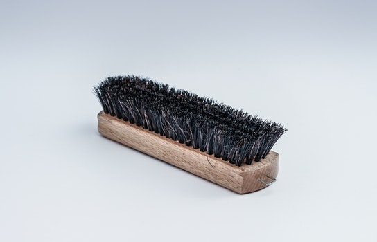 Free stock photo of brush, cleaning, shoe brush, wooden brush