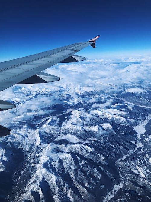 Free stock photo of airplane, beautiful sky, losangeles