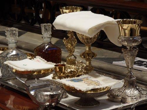 Free stock photo of catholic, chalice, eucharist, jesus christ