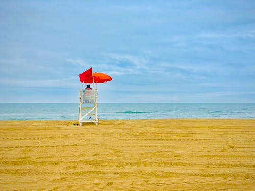 Free stock photo of lifeguard tower, station
