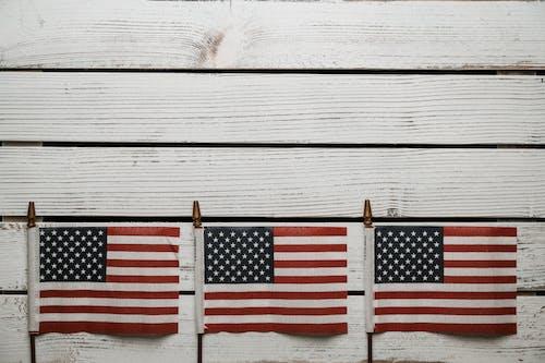 Kostnadsfri bild av abstraktion, fjärdedel, flagga, frihet