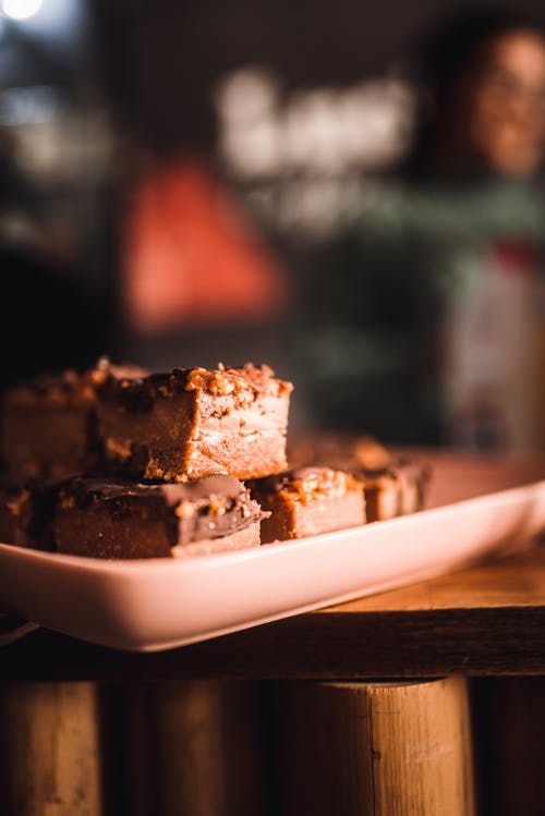 Shallow Focus Photo of Brownies