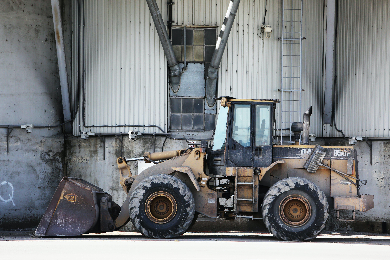 construction, excavator, site