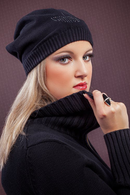 Immagine gratuita di adulto, autunno, berretto a maglia