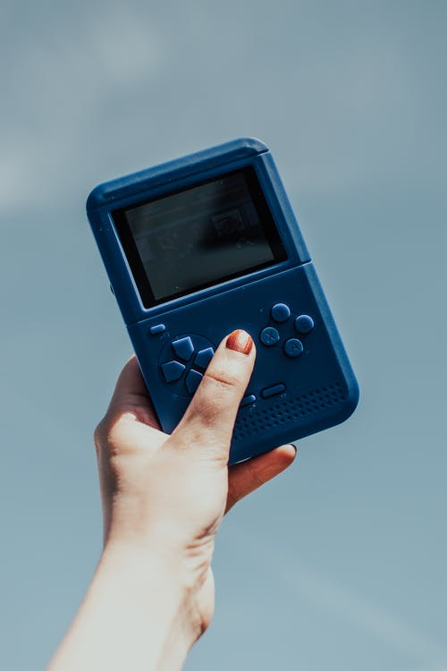Blue Nintendo Game Boy Color