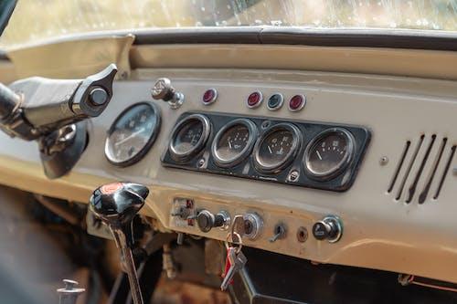Free stock photo of car, car interior, gaz