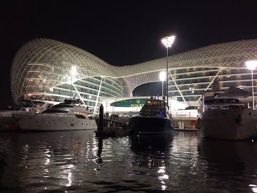 Free stock photo of yas marina circuit