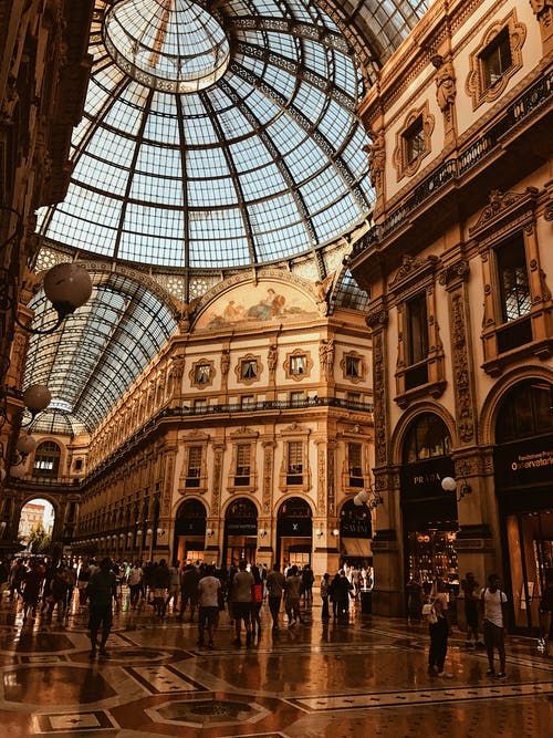 Základová fotografie zdarma na téma architektura, budova, butik, centrum města