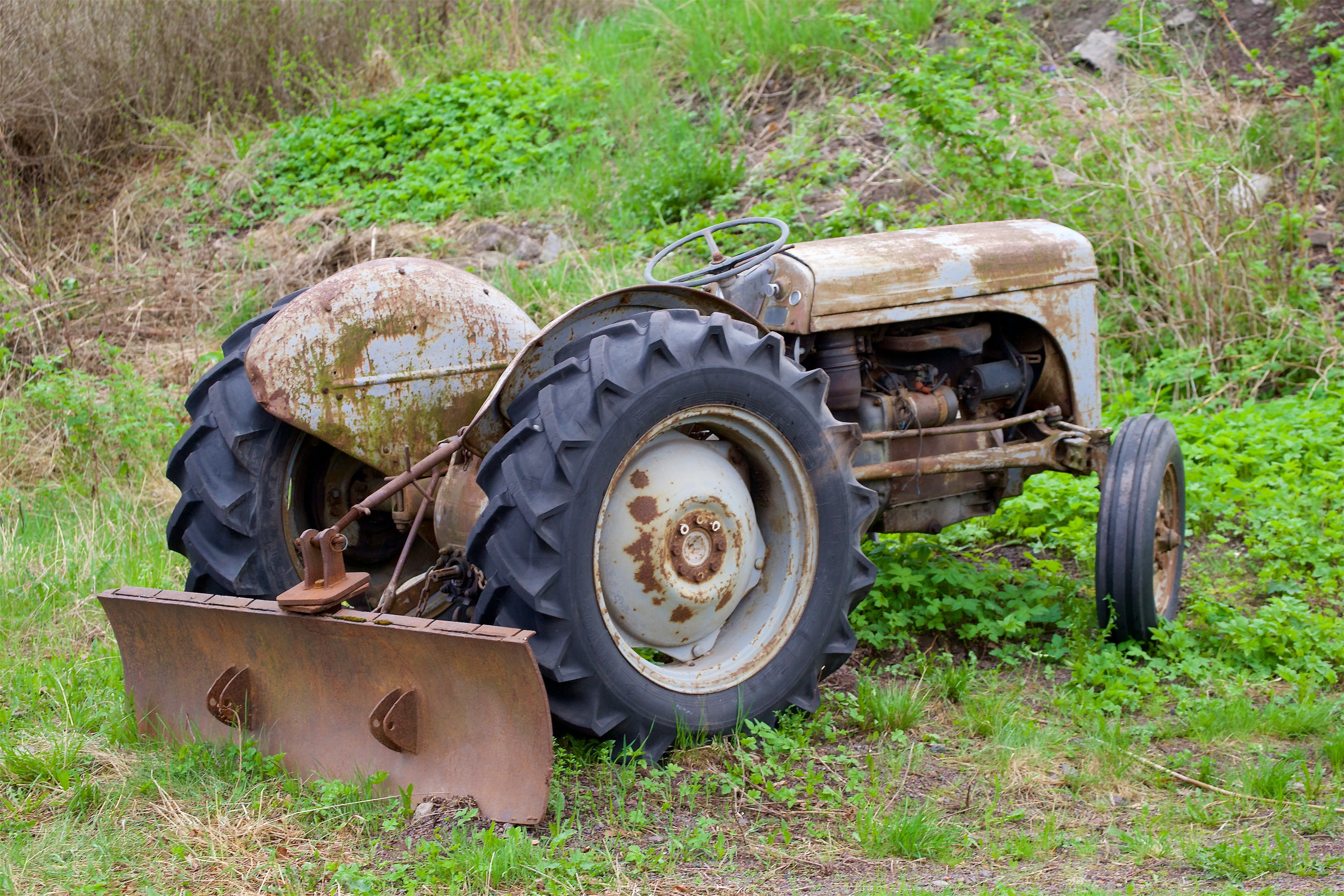 Free stock photo of tractor, old