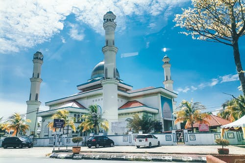 Gratis lagerfoto af arkitektur, blå moske, by, bygning