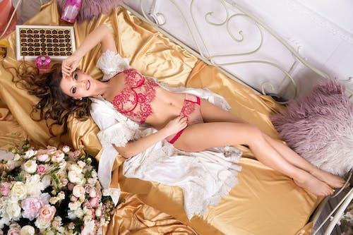 Free stock photo of beautiful woman, ferdinandstudio, flower, girl