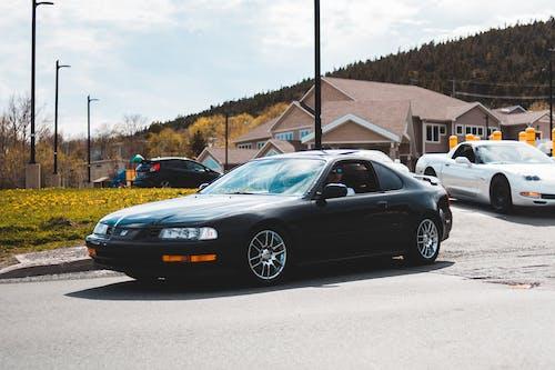 Black Car on Street