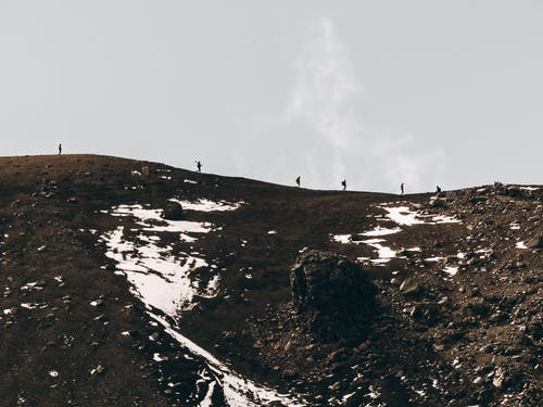 bulutlu, dağ, doğa, gökyüzü içeren Ücretsiz stok fotoğraf