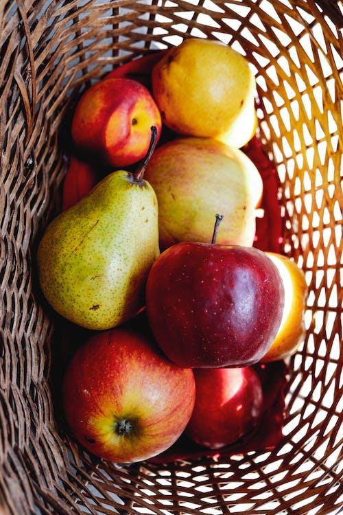 Free stock photo of apple, assortment, basket