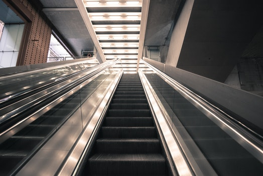 Free stock photo of stairs, light, city, glass
