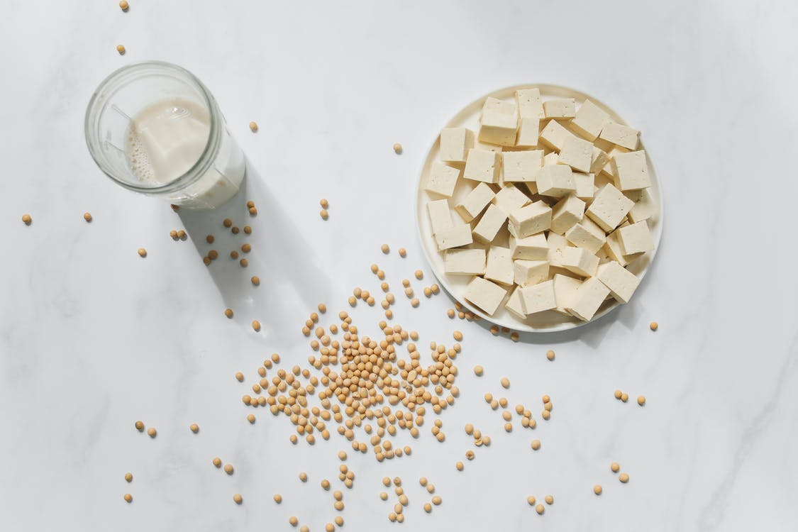 Photo Of Sliced Tofu On Bowl