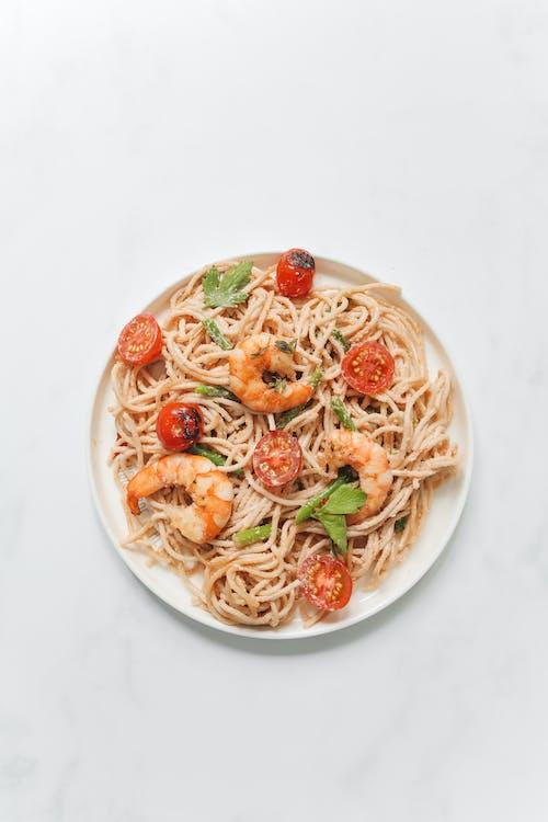 Immagine gratuita di carbonara, cibo, flat lay