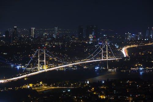 city-challenge, gece, hindi, İstanbul içeren Ücretsiz stok fotoğraf