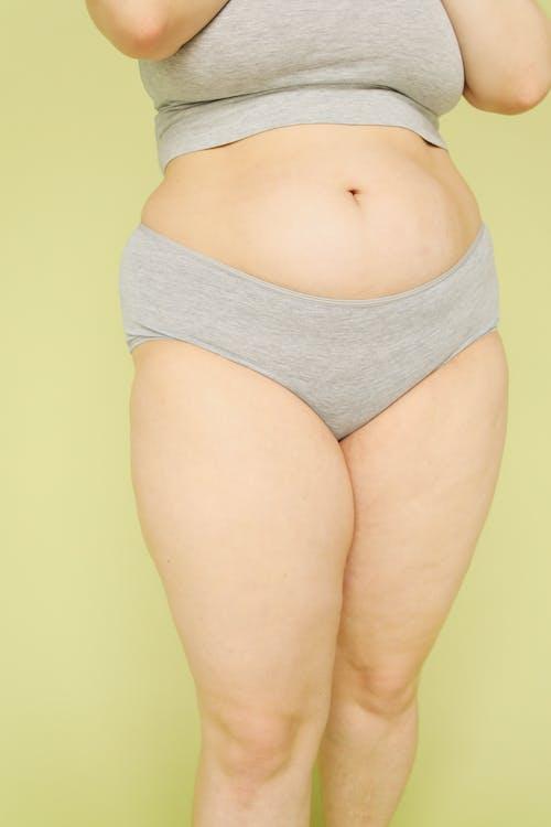 Foto d'estoc gratuïta de abdomen, adult, amb corbes, anticipació