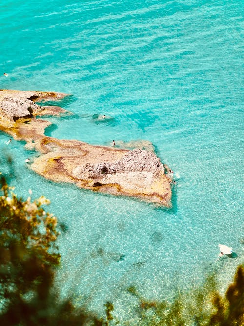 Kostenloses Stock Foto zu farbe, ferien, insel, meer