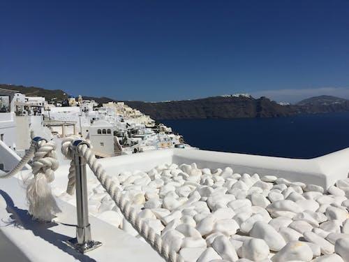 Free stock photo of aguamarina, grecia, isla, santorini