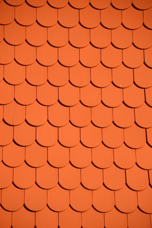 オレンジ, パターン, ルーフ