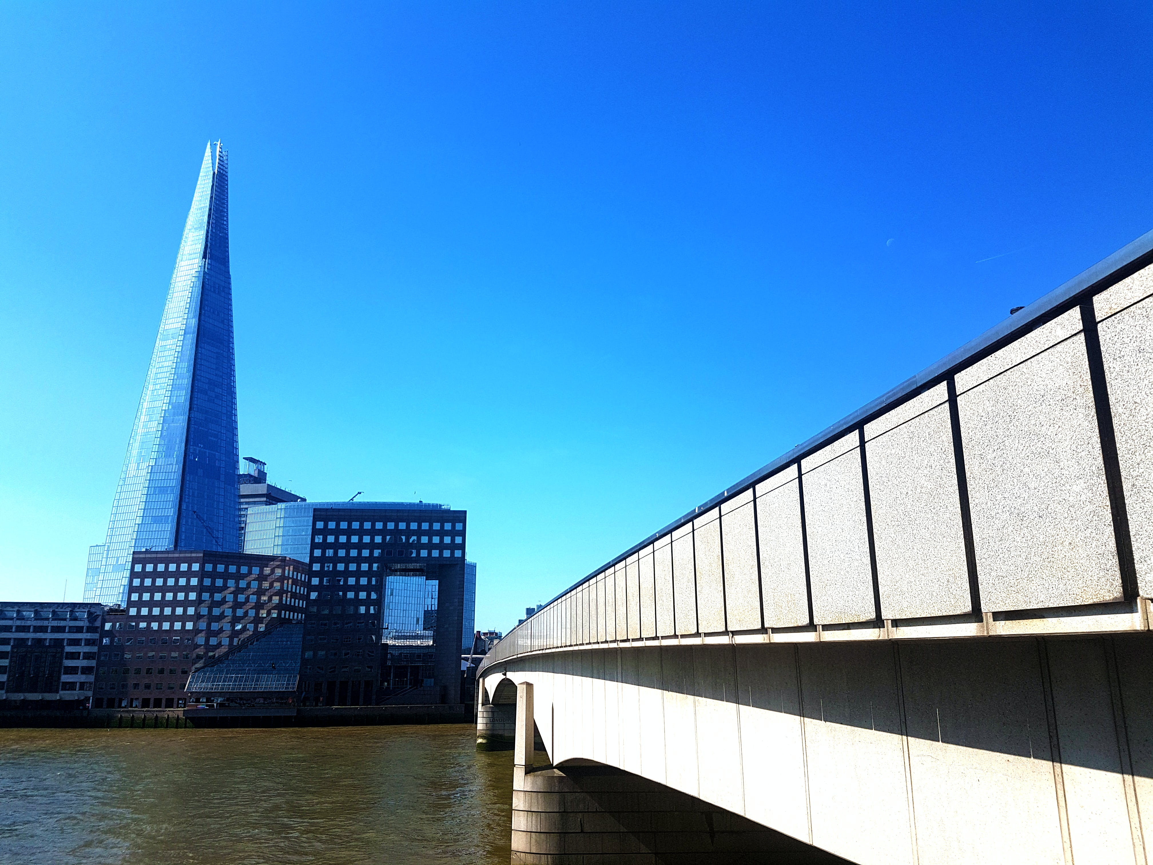 Free stock photo of bridge, london bridge, The Shard